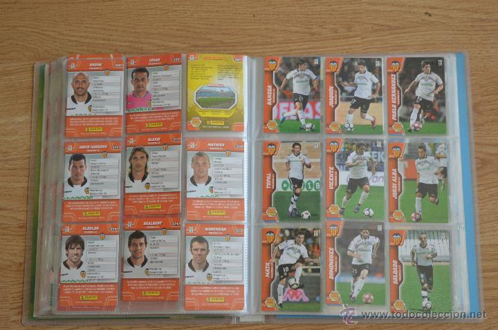 Coleccionismo deportivo: ALBUM FUTBOL MEGA CRACKS 2010 2011 COLECCIÓN OFICIAL DE 452 TRADING CARDS NO REPETIDAS - Foto 38 - 50081364