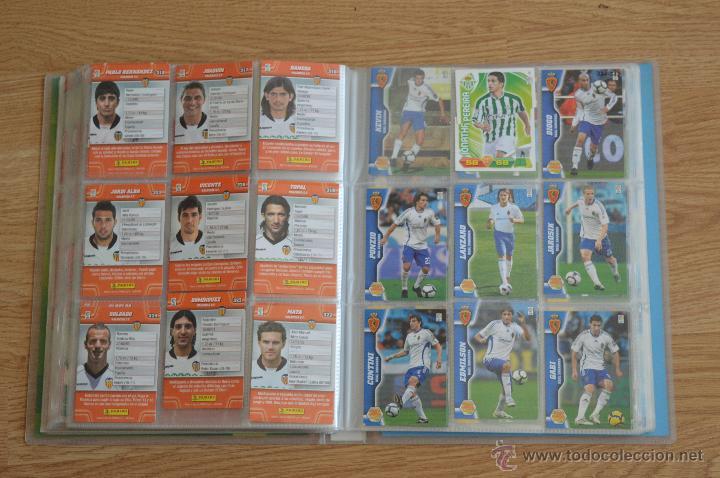 Coleccionismo deportivo: ALBUM FUTBOL MEGA CRACKS 2010 2011 COLECCIÓN OFICIAL DE 452 TRADING CARDS NO REPETIDAS - Foto 39 - 50081364
