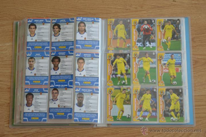 Coleccionismo deportivo: ALBUM FUTBOL MEGA CRACKS 2010 2011 COLECCIÓN OFICIAL DE 452 TRADING CARDS NO REPETIDAS - Foto 41 - 50081364