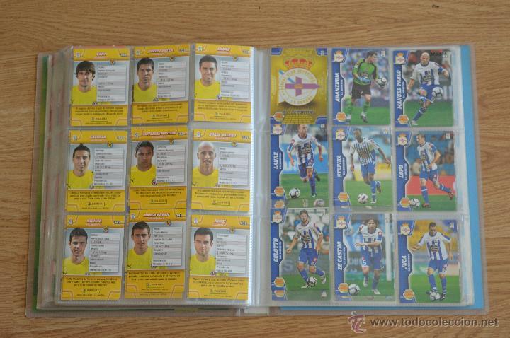 Coleccionismo deportivo: ALBUM FUTBOL MEGA CRACKS 2010 2011 COLECCIÓN OFICIAL DE 452 TRADING CARDS NO REPETIDAS - Foto 43 - 50081364