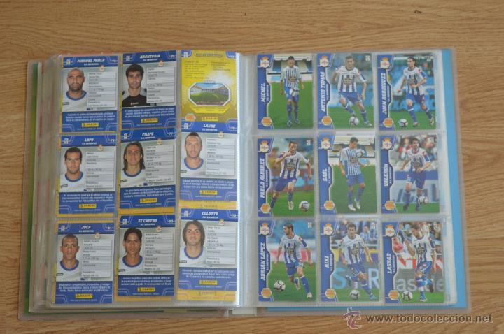 Coleccionismo deportivo: ALBUM FUTBOL MEGA CRACKS 2010 2011 COLECCIÓN OFICIAL DE 452 TRADING CARDS NO REPETIDAS - Foto 44 - 50081364