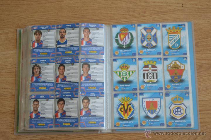 Coleccionismo deportivo: ALBUM FUTBOL MEGA CRACKS 2010 2011 COLECCIÓN OFICIAL DE 452 TRADING CARDS NO REPETIDAS - Foto 47 - 50081364