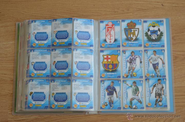 Coleccionismo deportivo: ALBUM FUTBOL MEGA CRACKS 2010 2011 COLECCIÓN OFICIAL DE 452 TRADING CARDS NO REPETIDAS - Foto 49 - 50081364