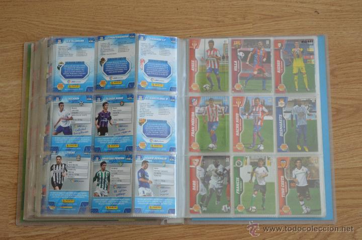 Coleccionismo deportivo: ALBUM FUTBOL MEGA CRACKS 2010 2011 COLECCIÓN OFICIAL DE 452 TRADING CARDS NO REPETIDAS - Foto 50 - 50081364