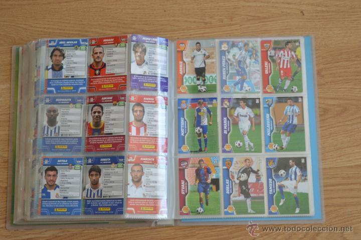 Coleccionismo deportivo: ALBUM FUTBOL MEGA CRACKS 2010 2011 COLECCIÓN OFICIAL DE 452 TRADING CARDS NO REPETIDAS - Foto 52 - 50081364