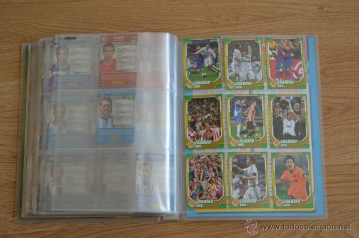 Coleccionismo deportivo: ALBUM FUTBOL MEGA CRACKS 2010 2011 COLECCIÓN OFICIAL DE 452 TRADING CARDS NO REPETIDAS - Foto 53 - 50081364