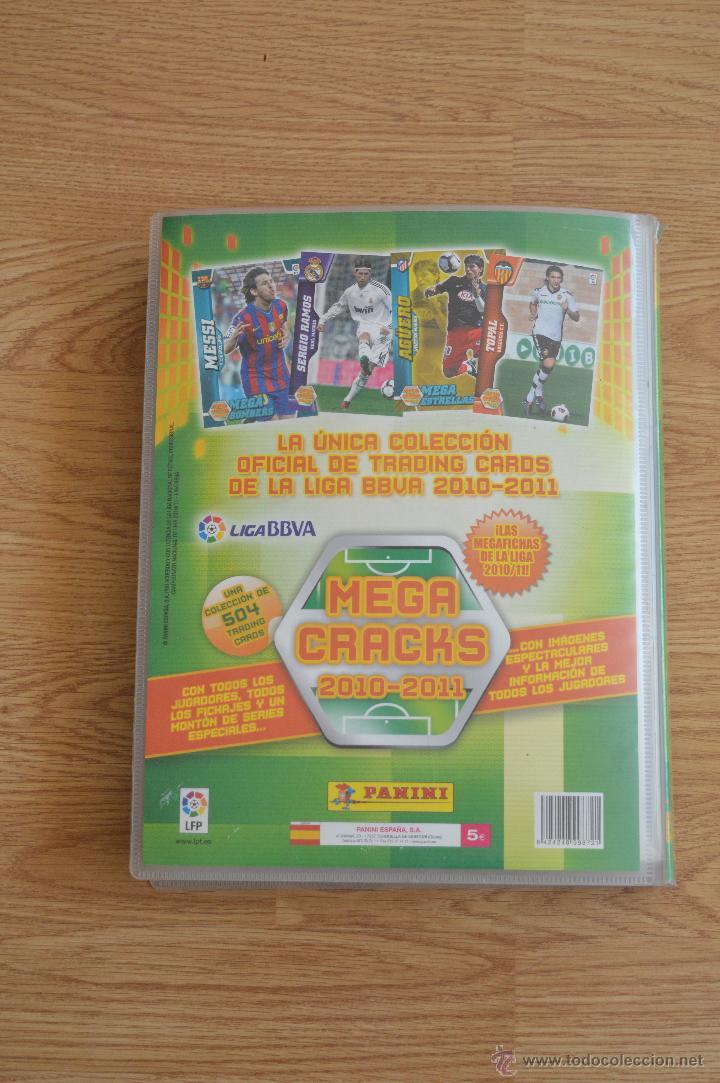 Coleccionismo deportivo: ALBUM FUTBOL MEGA CRACKS 2010 2011 COLECCIÓN OFICIAL DE 452 TRADING CARDS NO REPETIDAS - Foto 54 - 50081364