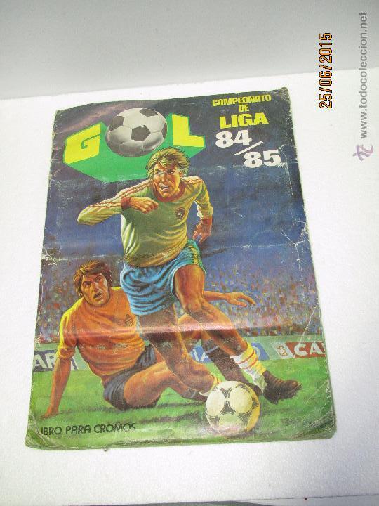 ANTIGUO ALBUM FUTBOL CAMPEONATO DE LIGA 1984 1985 DE EDITORIAL MAGA (Coleccionismo Deportivo - Álbumes y Cromos de Deportes - Álbumes de Fútbol Incompletos)
