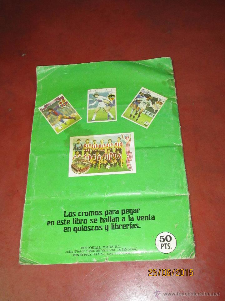 Coleccionismo deportivo: Antiguo Album FUTBOL Campeonato de Liga 1984 1985 de Editorial MAGA - Foto 2 - 50108074