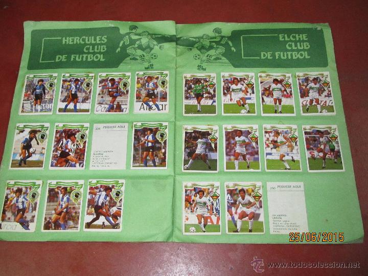 Coleccionismo deportivo: Antiguo Album FUTBOL Campeonato de Liga 1984 1985 de Editorial MAGA - Foto 3 - 50108074