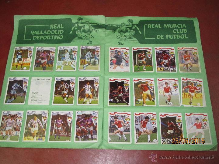 Coleccionismo deportivo: Antiguo Album FUTBOL Campeonato de Liga 1984 1985 de Editorial MAGA - Foto 4 - 50108074