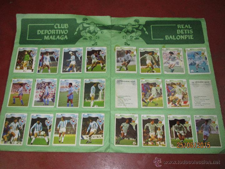 Coleccionismo deportivo: Antiguo Album FUTBOL Campeonato de Liga 1984 1985 de Editorial MAGA - Foto 5 - 50108074