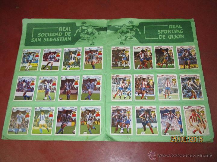 Coleccionismo deportivo: Antiguo Album FUTBOL Campeonato de Liga 1984 1985 de Editorial MAGA - Foto 8 - 50108074