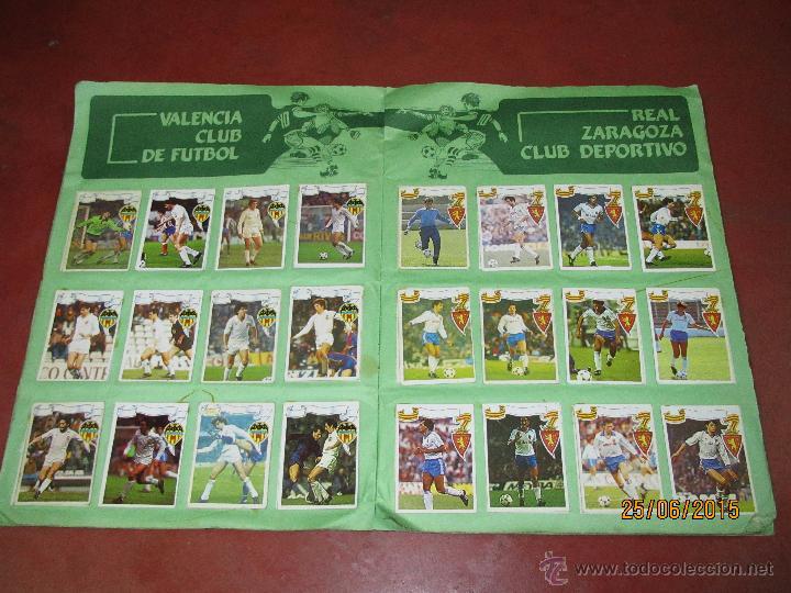 Coleccionismo deportivo: Antiguo Album FUTBOL Campeonato de Liga 1984 1985 de Editorial MAGA - Foto 9 - 50108074