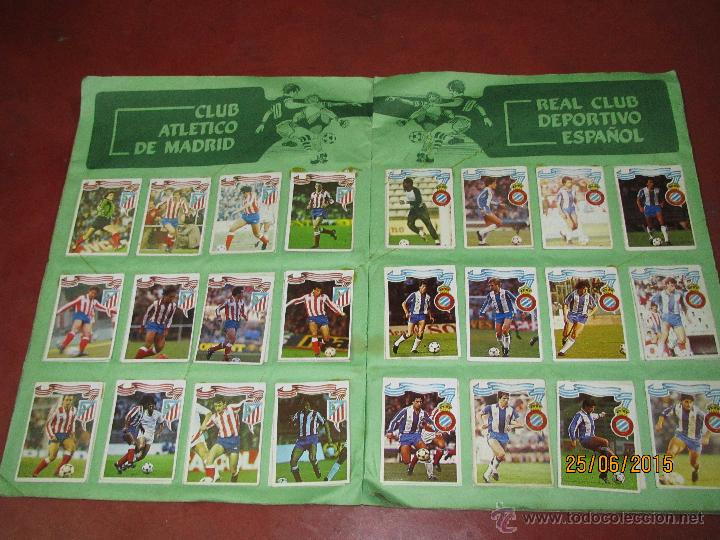 Coleccionismo deportivo: Antiguo Album FUTBOL Campeonato de Liga 1984 1985 de Editorial MAGA - Foto 10 - 50108074