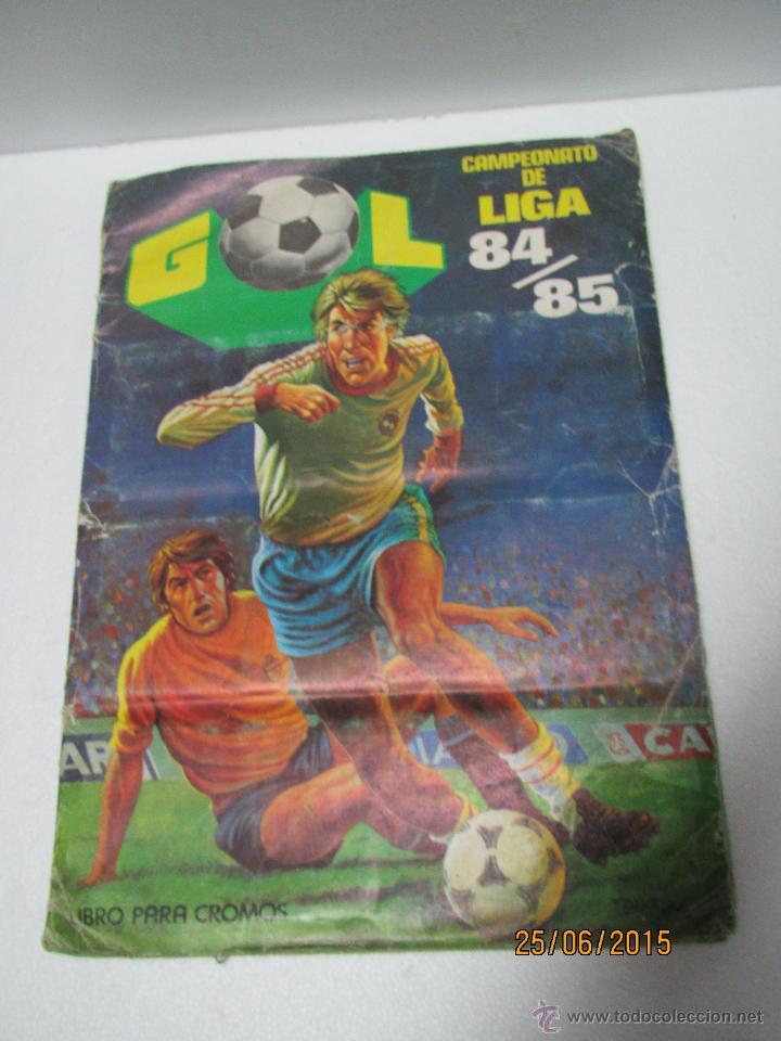 Coleccionismo deportivo: Antiguo Album FUTBOL Campeonato de Liga 1984 1985 de Editorial MAGA - Foto 14 - 50108074