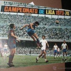 Coleccionismo deportivo: ALBUM CAMPEONATO DE LIGA 1973-74 FHER DISGRA INCOMPLETO. Lote 50168754