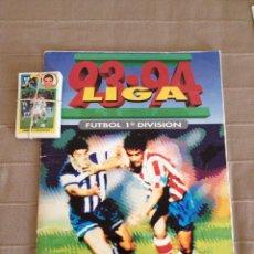Coleccionismo deportivo: ALBUM DE CROMOS EDICIONES ESTE LIGA TEMPORADA 1993 1994 93 94 CON CROMOS ADHESIVOS. Lote 50212143
