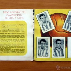 Coleccionismo deportivo: ATHLETIC DE BILBAO - EDITORIAL RUIZ ROMERO 1952-1953, 52-53 - CON 24 CROMOS. Lote 50394044