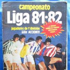Coleccionismo deportivo: ÁLBUM INCOMPLETO CAMPEONATO LIGA 81·82. EDICIONES ESTE, 1981.. Lote 50422743