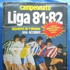 Coleccionismo deportivo: ÁLBUM INCOMPLETO CAMPEONATO LIGA 81·82. EDICIONES ESTE, 1981.. Lote 50423709