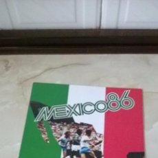 Coleccionismo deportivo: ALBUM MEXICO 86 COCA COLA SPORT BILLY PRODUCTIONS 1984 CALENDARIO MUNDIAL DE FUTBOL 1986 EXCELENTE. Lote 50433703