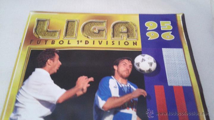 Coleccionismo deportivo: ALBUM ESTE 95-96 MUY COMPLETO CON VARIOS DOBLES, COLOCAS FICHAJE. VERSION SIN ALBACETE / VALLADOLID - Foto 3 - 50460482