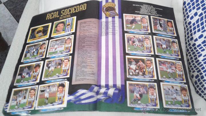 Coleccionismo deportivo: ALBUM ESTE 95-96 MUY COMPLETO CON VARIOS DOBLES, COLOCAS FICHAJE. VERSION SIN ALBACETE / VALLADOLID - Foto 12 - 50460482