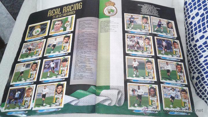 Coleccionismo deportivo: ALBUM ESTE 95-96 MUY COMPLETO CON VARIOS DOBLES, COLOCAS FICHAJE. VERSION SIN ALBACETE / VALLADOLID - Foto 14 - 50460482