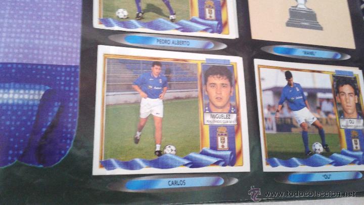 Coleccionismo deportivo: ALBUM ESTE 95-96 MUY COMPLETO CON VARIOS DOBLES, COLOCAS FICHAJE. VERSION SIN ALBACETE / VALLADOLID - Foto 17 - 50460482