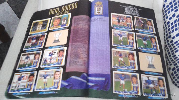 Coleccionismo deportivo: ALBUM ESTE 95-96 MUY COMPLETO CON VARIOS DOBLES, COLOCAS FICHAJE. VERSION SIN ALBACETE / VALLADOLID - Foto 19 - 50460482
