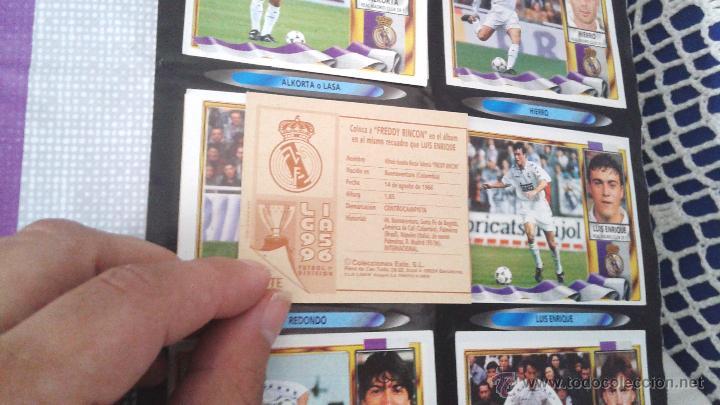 Coleccionismo deportivo: ALBUM ESTE 95-96 MUY COMPLETO CON VARIOS DOBLES, COLOCAS FICHAJE. VERSION SIN ALBACETE / VALLADOLID - Foto 23 - 50460482