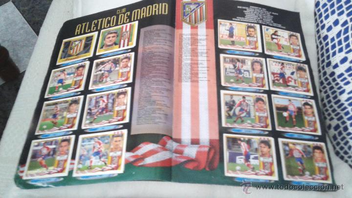 Coleccionismo deportivo: ALBUM ESTE 95-96 MUY COMPLETO CON VARIOS DOBLES, COLOCAS FICHAJE. VERSION SIN ALBACETE / VALLADOLID - Foto 26 - 50460482
