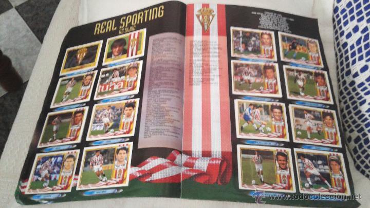 Coleccionismo deportivo: ALBUM ESTE 95-96 MUY COMPLETO CON VARIOS DOBLES, COLOCAS FICHAJE. VERSION SIN ALBACETE / VALLADOLID - Foto 28 - 50460482
