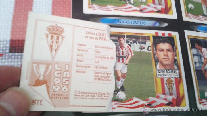 Coleccionismo deportivo: ALBUM ESTE 95-96 MUY COMPLETO CON VARIOS DOBLES, COLOCAS FICHAJE. VERSION SIN ALBACETE / VALLADOLID - Foto 29 - 50460482