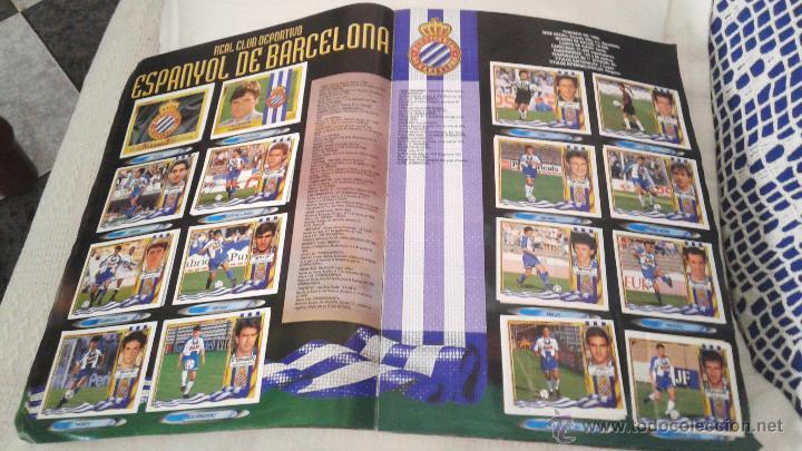 Coleccionismo deportivo: ALBUM ESTE 95-96 MUY COMPLETO CON VARIOS DOBLES, COLOCAS FICHAJE. VERSION SIN ALBACETE / VALLADOLID - Foto 30 - 50460482