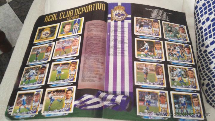 Coleccionismo deportivo: ALBUM ESTE 95-96 MUY COMPLETO CON VARIOS DOBLES, COLOCAS FICHAJE. VERSION SIN ALBACETE / VALLADOLID - Foto 31 - 50460482