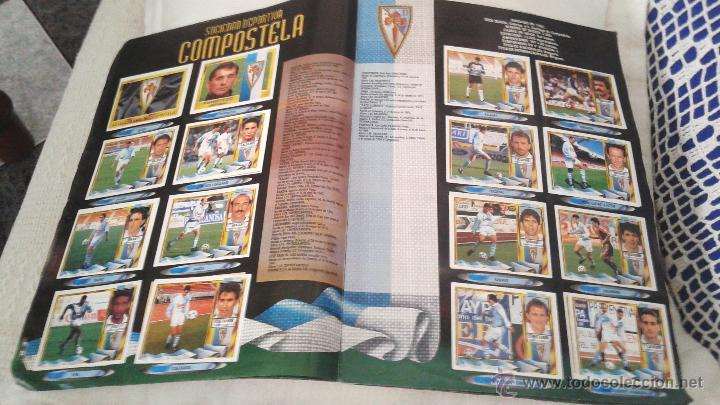 Coleccionismo deportivo: ALBUM ESTE 95-96 MUY COMPLETO CON VARIOS DOBLES, COLOCAS FICHAJE. VERSION SIN ALBACETE / VALLADOLID - Foto 32 - 50460482
