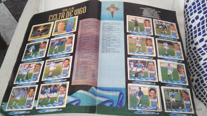 Coleccionismo deportivo: ALBUM ESTE 95-96 MUY COMPLETO CON VARIOS DOBLES, COLOCAS FICHAJE. VERSION SIN ALBACETE / VALLADOLID - Foto 33 - 50460482