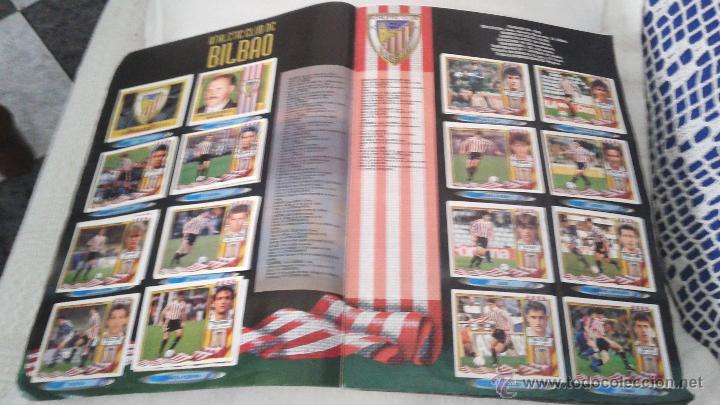 Coleccionismo deportivo: ALBUM ESTE 95-96 MUY COMPLETO CON VARIOS DOBLES, COLOCAS FICHAJE. VERSION SIN ALBACETE / VALLADOLID - Foto 34 - 50460482