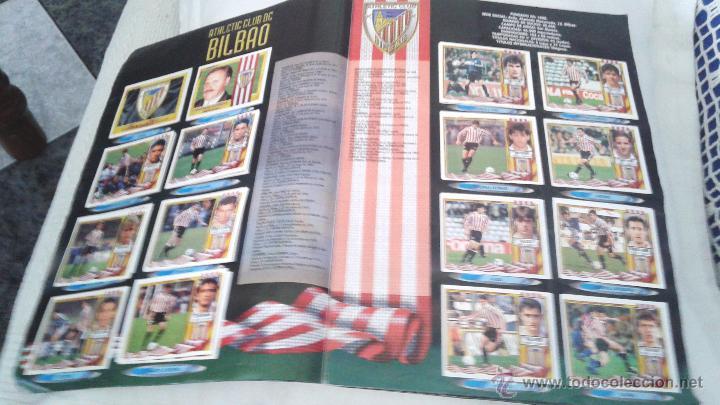 Coleccionismo deportivo: ALBUM ESTE 95-96 MUY COMPLETO CON VARIOS DOBLES, COLOCAS FICHAJE. VERSION SIN ALBACETE / VALLADOLID - Foto 35 - 50460482