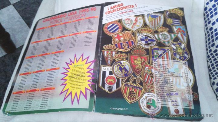 Coleccionismo deportivo: ALBUM ESTE 95-96 MUY COMPLETO CON VARIOS DOBLES, COLOCAS FICHAJE. VERSION SIN ALBACETE / VALLADOLID - Foto 41 - 50460482