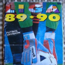 Coleccionismo deportivo: ÁLBUM CROMOS DE FUTBOL LIGA 89 90 LIBRO DE CROMOS LIGA 1989 1990 VACÍO EDICIONES ESTE .. Lote 50484729