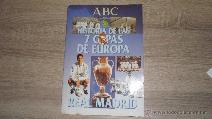 HISTORIA DE LAS 7 COPAS DE EUROPA,1998 ABC LE FALTAN 7.CROMOS (Coleccionismo Deportivo - Álbumes y Cromos de Deportes - Álbumes de Fútbol Incompletos)