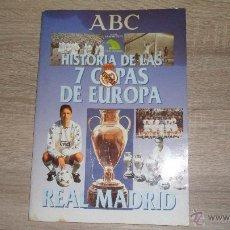 Coleccionismo deportivo: HISTORIA DE LAS 7 COPAS DE EUROPA,1998 ABC LE FALTAN 7.CROMOS. Lote 50569036