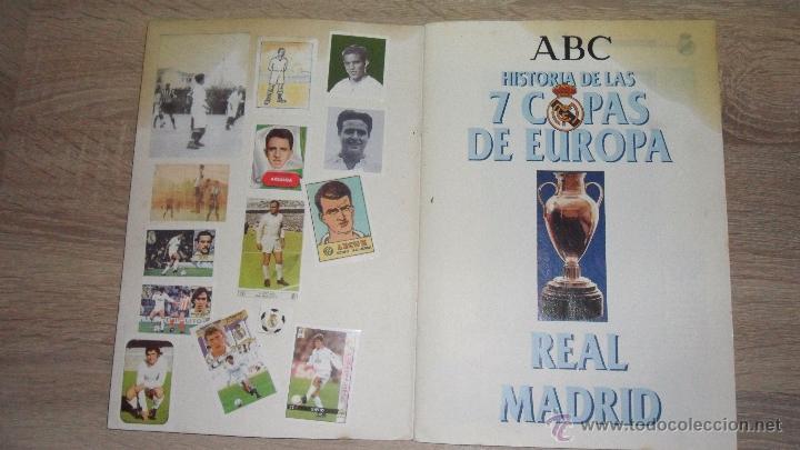 Coleccionismo deportivo: historia de las 7 copas de europa,1998 abc le faltan 7.cromos - Foto 2 - 50569036