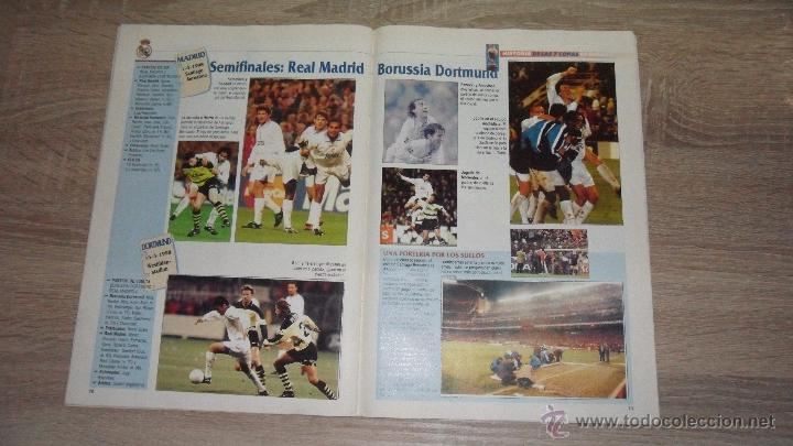 Coleccionismo deportivo: historia de las 7 copas de europa,1998 abc le faltan 7.cromos - Foto 6 - 50569036