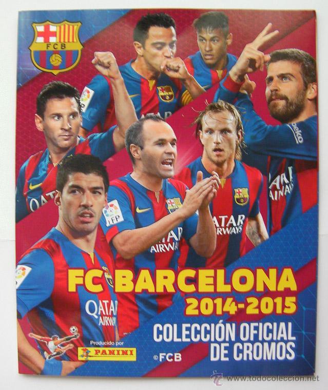 ALBUM FC BARCELONA 2014-2015 SIN CROMOS (Coleccionismo Deportivo - Álbumes y Cromos de Deportes - Álbumes de Fútbol Incompletos)