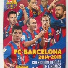 Coleccionismo deportivo: ALBUM FC BARCELONA 2014-2015 SIN CROMOS. Lote 50580120