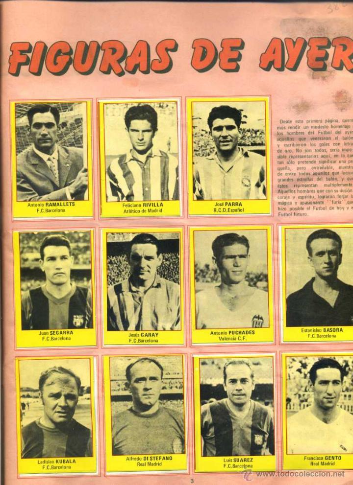 Coleccionismo deportivo: SUPER FUTBOL 84 - Coleccion de Cromos de Futbol del año 1984 con Viejas Figuras, Fichajes y Otros - Foto 2 - 50711957